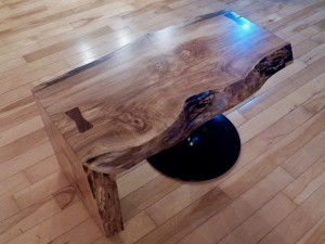 Live Edge Coffee Table - 1