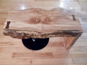 Live Edge Coffee Table - 3